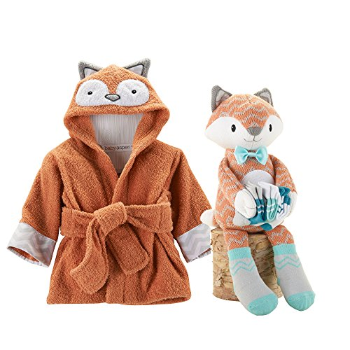 Baby Gift Emporium : Baby aspen fox bundle of robe and with socks